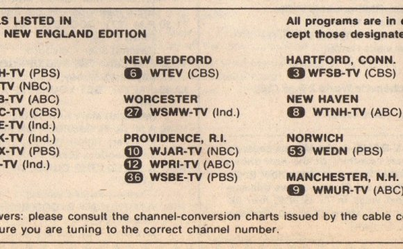 (NOTE: Providence TV Stations