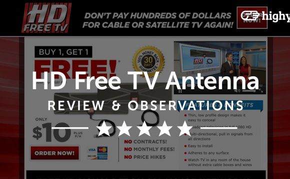 Digital Television Antenna Reviews