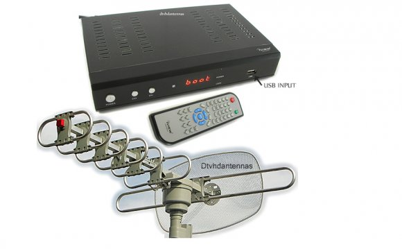 Digital converter box for HDTV