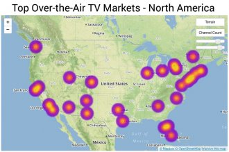 Top OTA markets North America